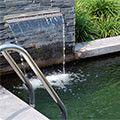 Le secret d'une eau cristalline étang de natation