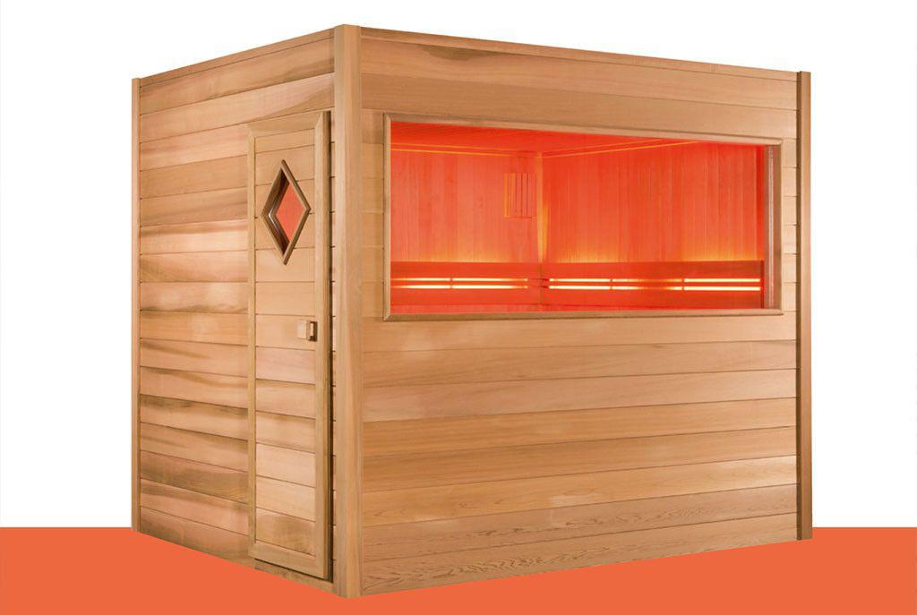 Alpha Industries AWT bvba Sauna extérieur esthétique