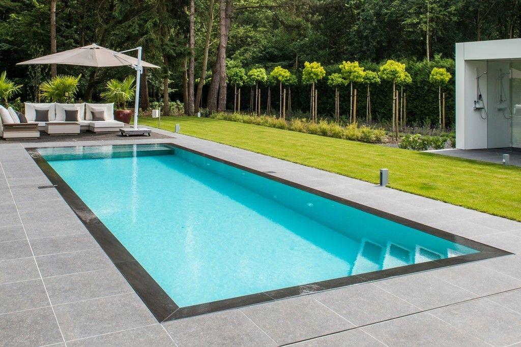 Bollen Zwembaden Une piscine dans un jardin de bien-être